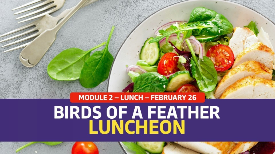 01.02.04 —February 26 — Birds of a Feather Luncheon