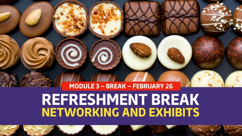 01.03.04 — February 26 — Mid-afternoon Refreshments — Visit the Exhibitors