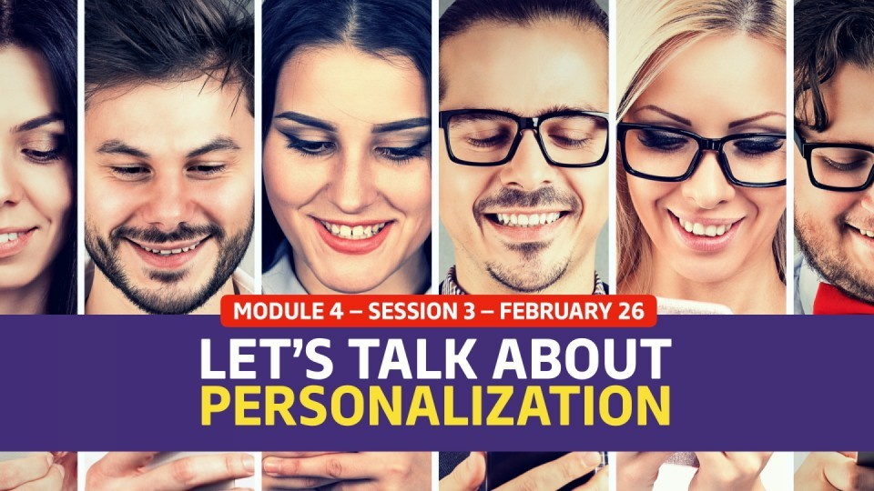 01.04.03 — [Panel Discussion] Let's Talk About Personalization