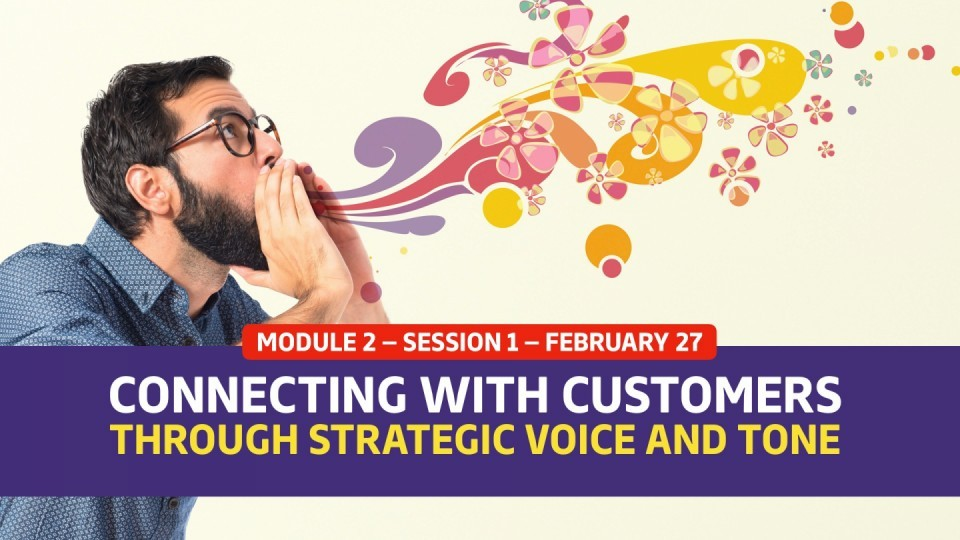 02.02.01 — February 27 — Connect With Customers Through Strategic Voice And Tone